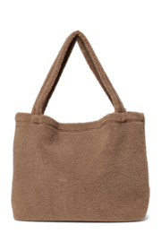 Brown chunky teddy mom-bag - StudioNoos