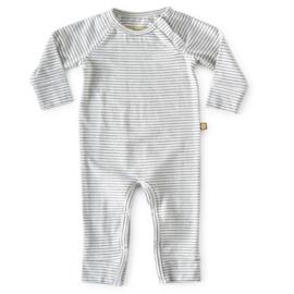 Babypakje small black stripes - Little Label