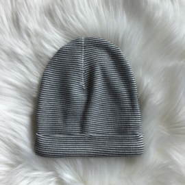 HAT STRIPE NAVY 0-3 MONTH - Riffle