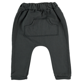 Sweat pants with pocket anthracite - Beans