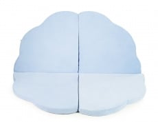 Cloud Foam Play Mat for Children, light blue - MEOWBABY