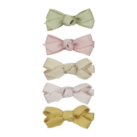 Mini florence bow clips- Mimi and Lula