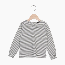 House Of Jamie - Collar Tee Little Stripes