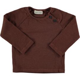 Striped T-shirt Tile- BeansBarcelona
