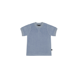Crewneck Tee Faded Denim - House Of Jamie