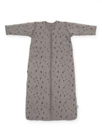 Baby Slaapzak 90cm Spot - Met Afritsbare Mouw - Storm Grey - Jollein