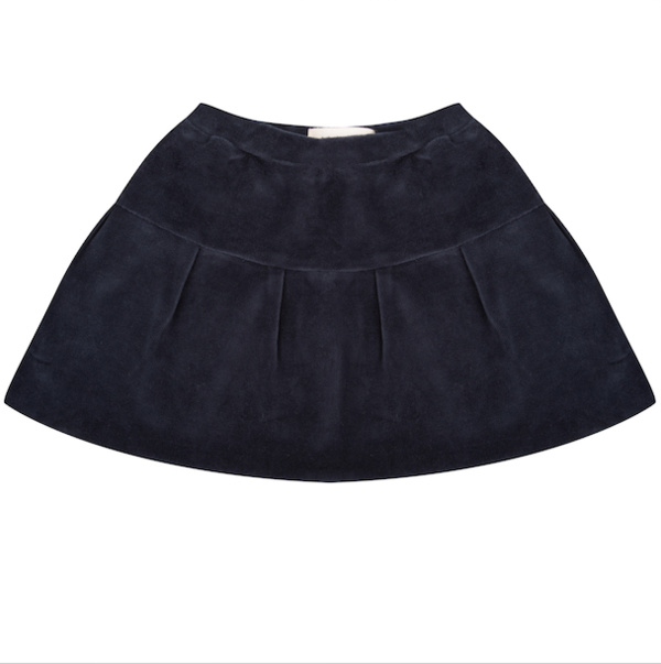 Skirt - Total Eclipse Velour - Little Indians