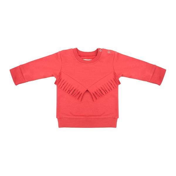 Boho Sweater - Apple - Little Indians
