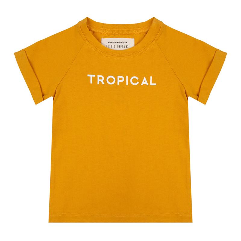 Shirt Tropical Summer Flower - Little Indians