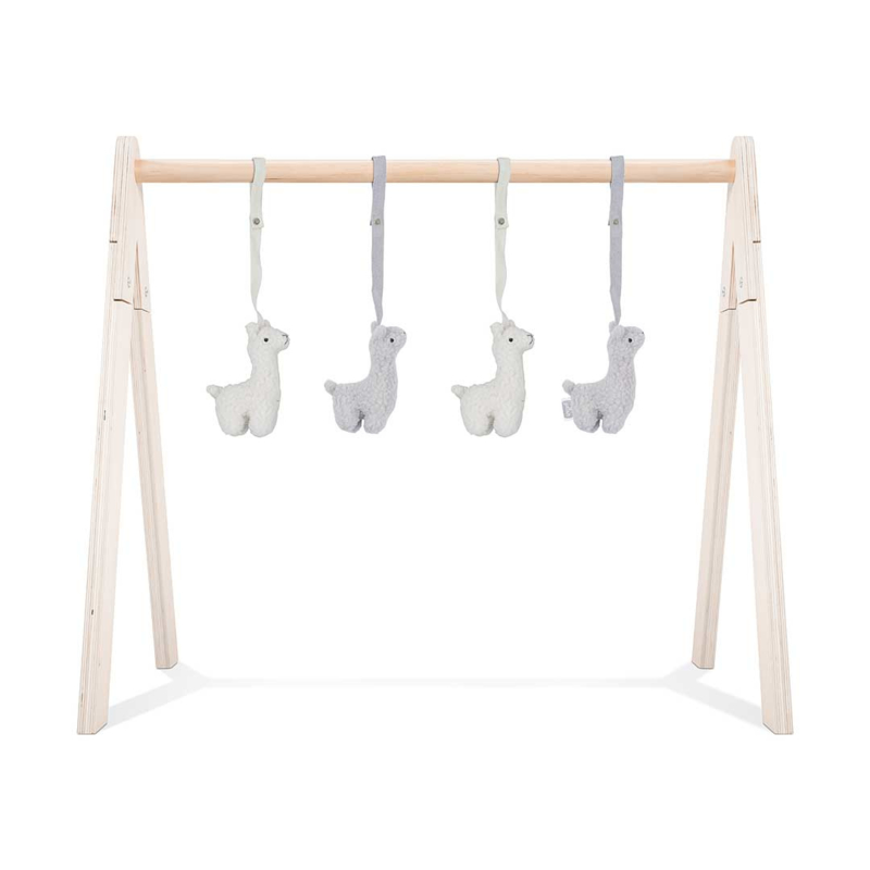 Jollein Babygym toys Lama (4pcs)