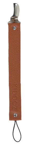 Pacifier clip brown - KIDOOZ