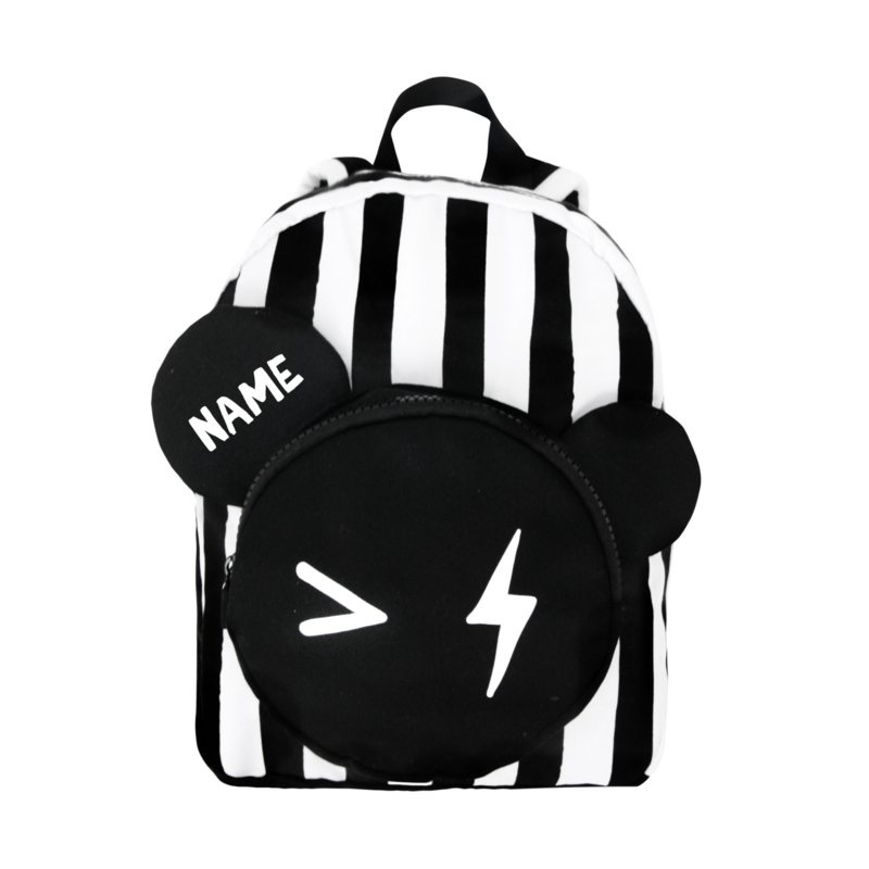 Van Pauline - Bear Backpack Stripe SMALL