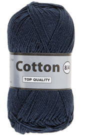 Cotton 8/4 892 jeans donkerblauw