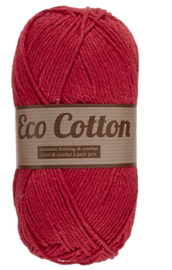 Eco Cotton 043 rood