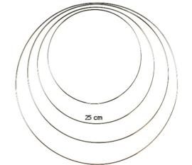 Dromenvanger ring rvs 25 cm