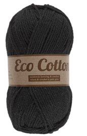 Eco Cotton 001 zwart