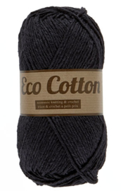 Eco Cotton 001 zwart