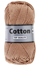 Cotton 8/4 054 zachtbruin