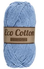 Eco Cotton 011 zacht blauw
