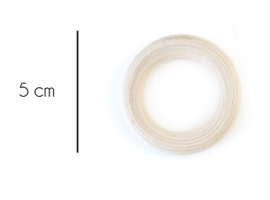 Houten ring 5 cm
