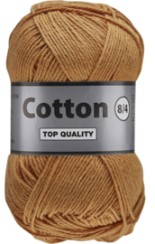 Cotton 8/4 116 lichtbruin