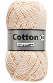 Cotton 8/4 218 huidskleur