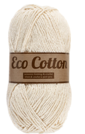 Eco Cotton 016 gebroken wit