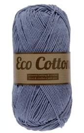 Eco Cotton 022 licht jeansblauw