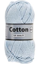 Cotton 8/4 050 zacht lichtblauw