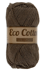 Eco Cotton 112 donkerbruin