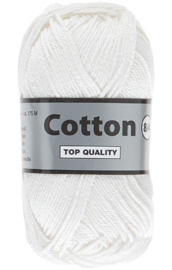 Cotton 8/4 844 gebroken wit