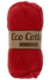 Eco Cotton 043 rood