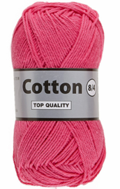 Cotton 8/4 020 roze