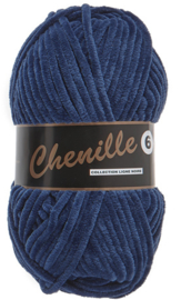 Chenille 6 890 donkerblauw
