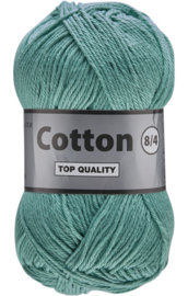 Cotton 8/4 853 donkermint