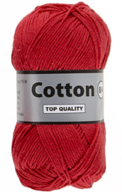 Cotton 8/4 043 rood