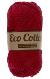 Eco Cotton 042 bordeaux