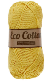 Eco Cotton 372 geel