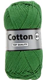Cotton 8/4 373 donkergroen
