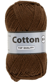 Cotton 8/4 112 donkerbruin