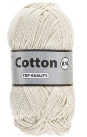 Cotton 8/4 016 crème