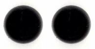 Veiligheidsogen zwart 15 mm (per stuk)