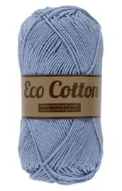 Eco Cotton 012 zachtblauw