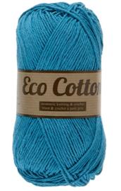 Eco Cotton 457 aqua blauw