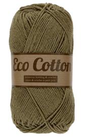 Eco Cotton 076 legergroen