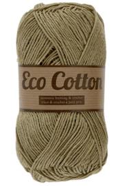 Eco Cotton 074 licht legergroen