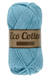 Eco Cotton 452 donker mint