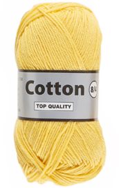 Cotton 8/4 371 geel