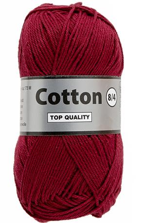 Cotton 8/4 848 bordeaux