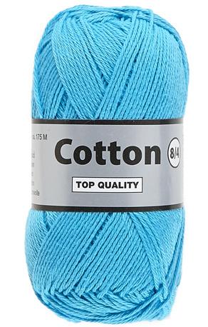 Cotton 8/4 838 helderblauw